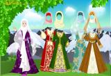 العاب تلبيس بنات العرب المحجبات