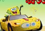 لعبة سيارة سبونج بوب الجديدة 2017