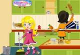 لعبة تنظيف المطابخ للبنات