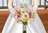 لعبة ترتيب  بوكيه الزفاف للعروسة
