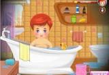 لعبة استحمام الطفل