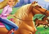 لعبة باربي والحصان السحرى