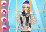 لعبة تلبيس باربي ملابس الشتاء 2017