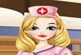 لعبة تلبيس الممرضة الجميلة
