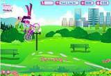 لعبة دراجة باربي الحديثة 2014