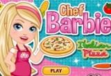 لعبة بيتزا الشيف باربى