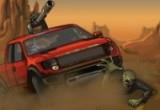 لعبة دعس الزومبى بالسيارة
