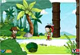 لعبة البحث عن الكنز فى الغابة