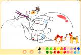 لعبة تلوين بابا نويل