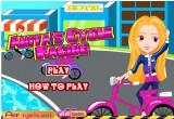 لعبة آنيتا وسباق الدراجات