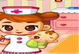 لعبة ممرضة الاطفال
