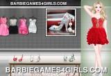 لعبة تلبيس باربي فساتين سهرة حقيقية