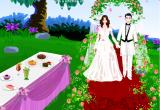 لعبة ديكور حفل الزفاف