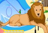 لعبة ديكور حديقة الحيوانات