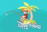 لعبة صيد سمك سعيد