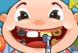 لعبة طبيب اسنان الاطفال الصغار