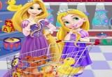 العاب تسوق ربانزل وابنتها