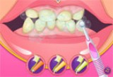 لعبة تنظيف اسنان الطفلة المدللة