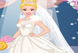 لعبة تصميم فستان زفاف باربي