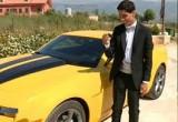 لعبة تلوين سيارة  الفنان محمد عساف