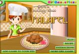 لعبة طبخ الفلافل مع سارة