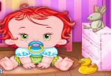 لعبة ديكور  غرفة طفلتي الرضيعه