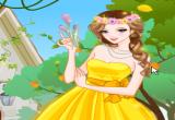لعبة تلبيس اميرة الورود فى الربيع