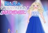 لعبة إلسا عارضة الأزياء
