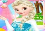 لعبة تنظيف بشرة ملكة الثلج