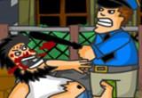 لعبة قتال شوارع مع الشرطة