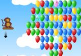 لعبة تفجير البالونات الجميلة الملونة