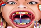 لعبة هانا مونتانا عند طبيب الاسنان