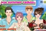 لعبة تلبيس أزياء الصيف الحار