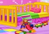 لعبة تصميم غرفة الاطفال