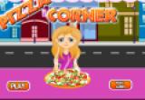 لعبة طبخ البيتزا وتقديمها للزبائن
