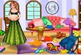 لعبة تنظيف غرفة المرأة الحامل