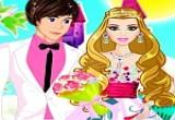 لعبة تلبيس العرسان ملابس حفل الزفاف