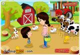 لعبة المزرعة الصغيرة