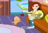 لعبة رعاية الكلب الصغير