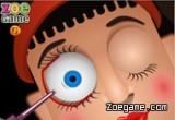 لعبة عملية جراحة العيون